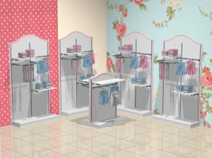 Торговая мебель для детских магазинов коллекция ПРЕМИУМ