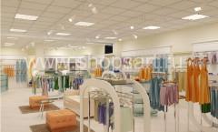 Визуализация магазина детской одежды Жирафа БЕЛАЯ КЛАССИКА