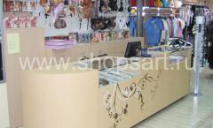 Фото магазина женской одежды коллекция ХАЙ ТЕК