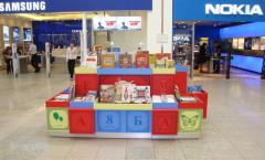 Островной магазин для продажи книг