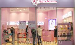 Торговое оборудование для магазина бижутерии Bijoux Mania коллекция DE LUXE