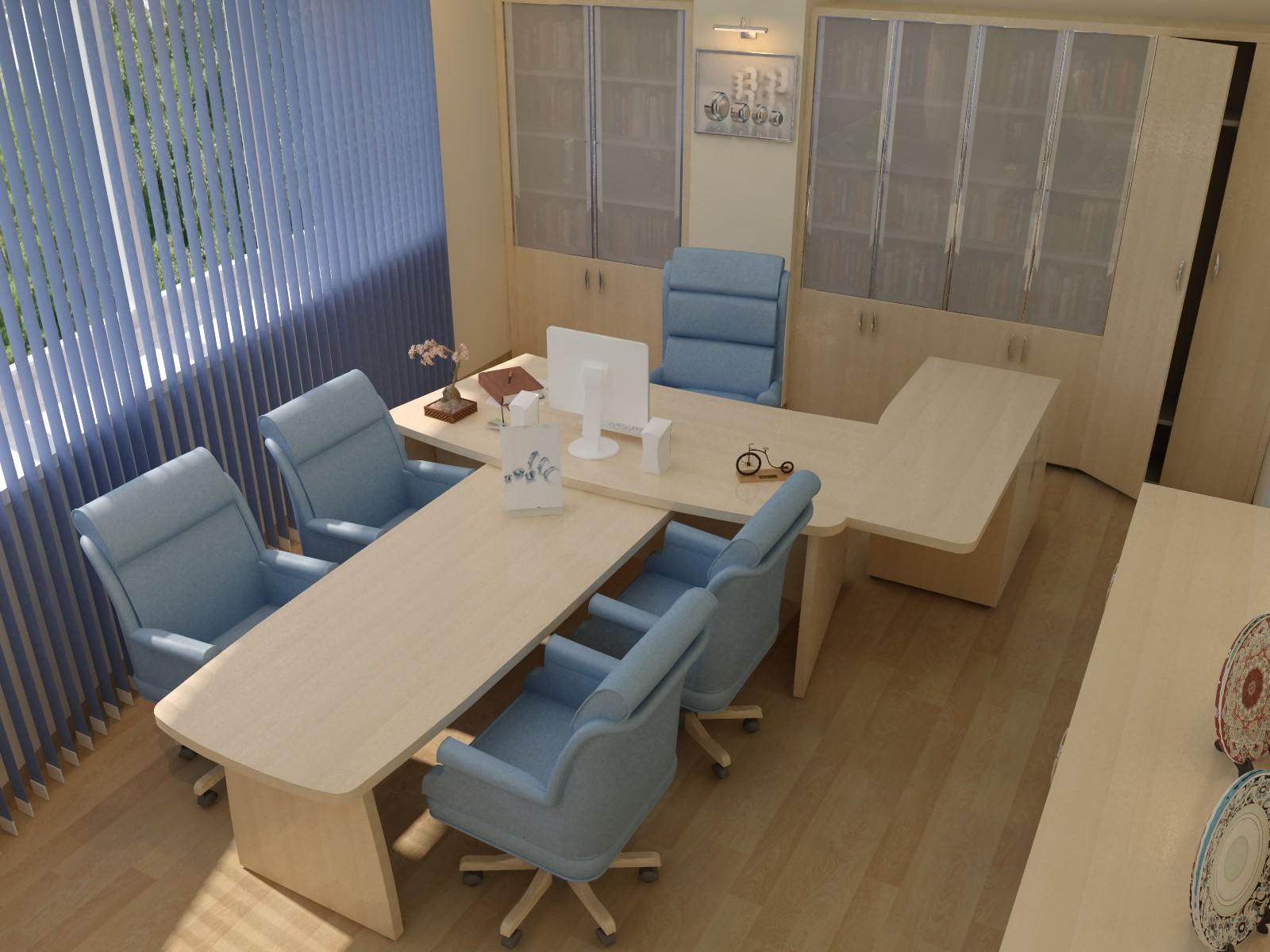 переговорная офисная комната