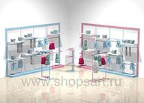 Торговое оборудование для детских магазинов РАДУГА