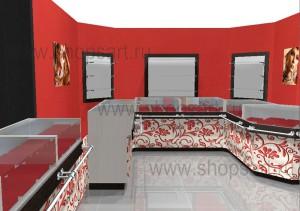 Торговое оборудование КОРАЛЛ для ювелирных магазинов