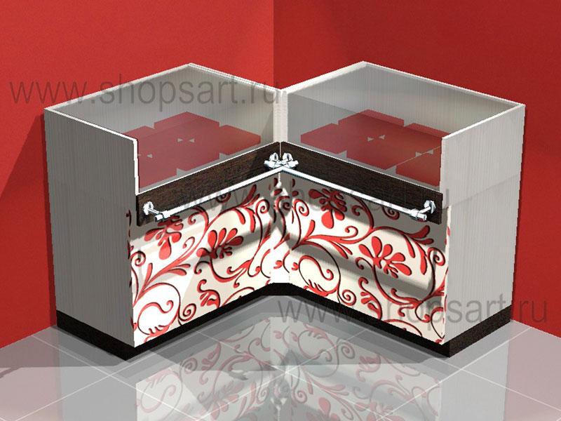 Прилавки для выкладки ювелирных изделий (внутренний угол)