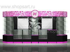 Дизайн-проекты магазинов бижутерии
