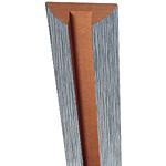 Декор стойки для GL 1 (пленка ПВХ) / GL 3RA  Примечание: Есть возможность изготовления в других цветах по каталогу пленок ПВХ (минимальная партия – 8 шт.) Цвет: металлик белый глянец черный глянец Цена: 1 190,00 руб.