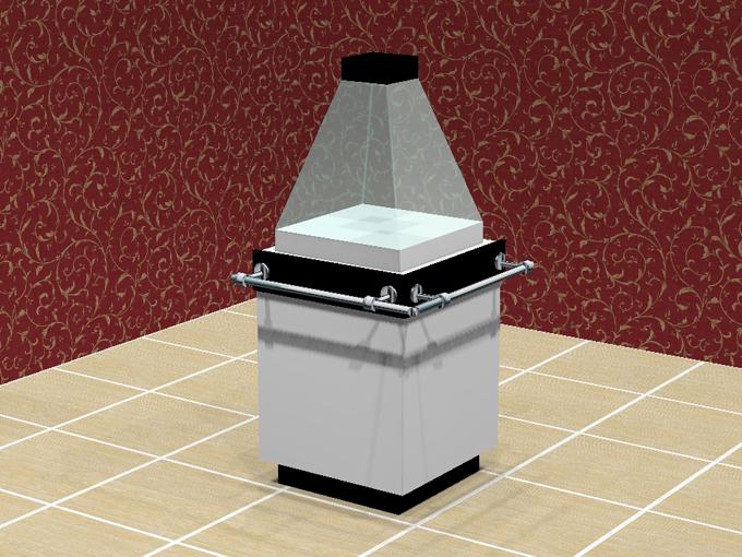 Куб демонстрационный ювелирный