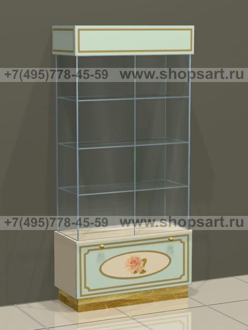 Витрина выдвижной ящик Винтаж