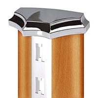 Венец декора (стойки) для GL 1 / GL 6  Цвет: хром Кол-во в упаковке (в розницу продается поштучно): 1 шт. Цена: 149,60 руб.