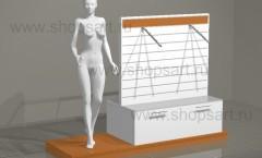 Стойка островная подиум манекен торговое оборудование АТЛАНТА