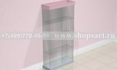 Витрина стеклянная торговое оборудование ЛАСКАНА