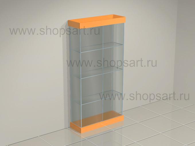 Витрина стеклянная на подиуме торговое оборудование АТЛАНТА