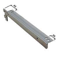 Кронштейн для полок / Глубина: 350 мм Цвет: серебряный металлик  Артикул/Кронштейн: NX-412 L - SALE!/левый NX-412 R - SALE!/правый