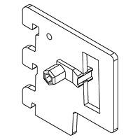 Держатель для труб HP-8 / NX-632Цвет: хром Кол-во в упаковке (в розницу продается поштучно): 10 шт.Глубина, мм:50 / 300