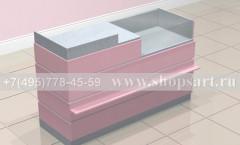 Кассовый стол с торговым прилавком торговое оборудование ЛАСКАНА