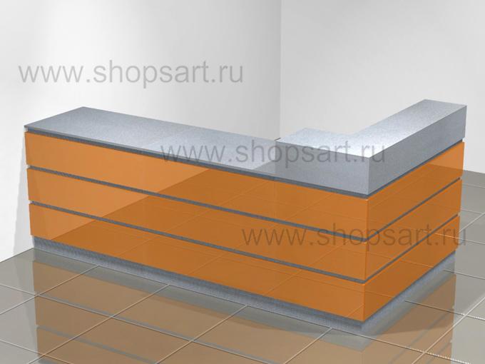 Кассовый стол торговое оборудование АТЛАНТА