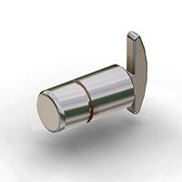 Полкодержатель / N-61Глубина: 20 ммДиаметр: 12 ммЦвет: хром Кол-во в упаковке (в розницу продается поштучно): 25 шт.
