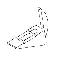 Полкодержатель / N-62Цвет: хром Кол-во в упаковке (в розницу продается поштучно): 10 шт.