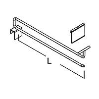 Крючок одинарный для HP-8 / HP-84Диаметр прутка: 8 ммЦвет: хром Глубина, мм:300350