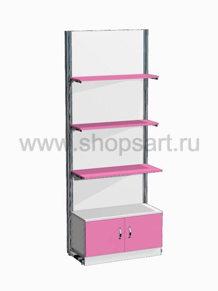 Торговая оборудование для детских магазинов стеллаж Розовая фантазия