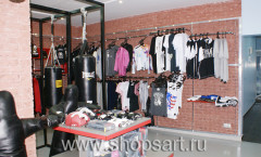 Фото магазина спортивной одежды SPORTSMAN Химки МИНИМАЛИЗМ