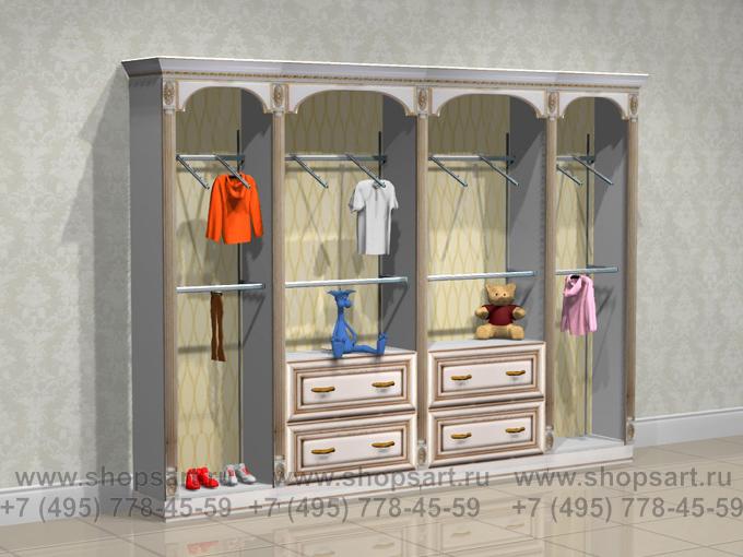 Торговое оборудование для детских магазинов стеллажи Элит Голд