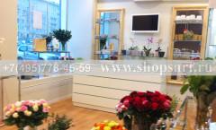 Фотографии открытого магазина цветов