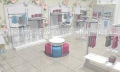Визуализация детского магазина МОНАЛИЗА