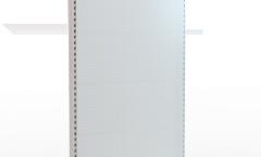 Стеллаж металлический с перфорированной задней стенкой