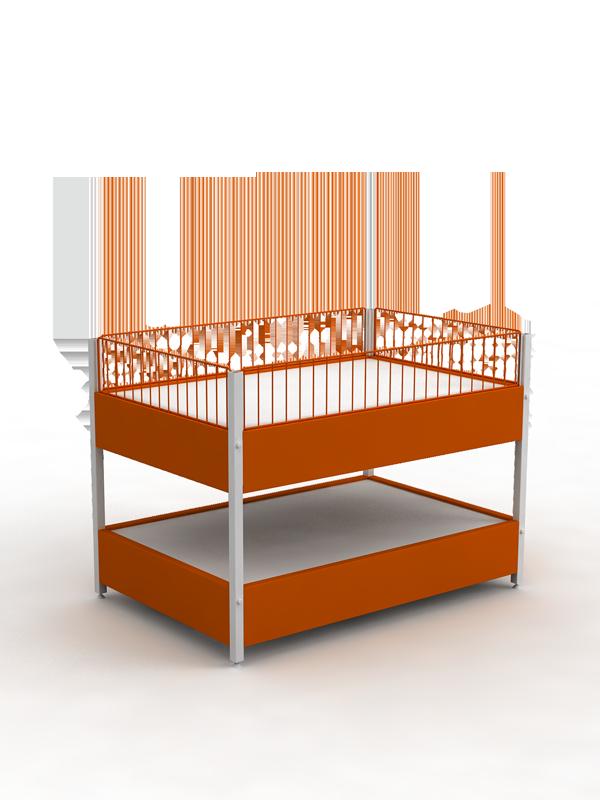 Стол металлический для распродаж