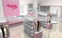 Визуализация отдела нижнего белья магазина Аромат ЛАСКАНА