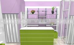 Визуализация магазина цветов 2 АРОМАТНЫЙ МИР Картинка 2