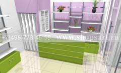 Визуализация магазина цветов 2 АРОМАТНЫЙ МИР Картинка 3