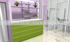 Визуализация магазина цветов 2 АРОМАТНЫЙ МИР Картинка 4