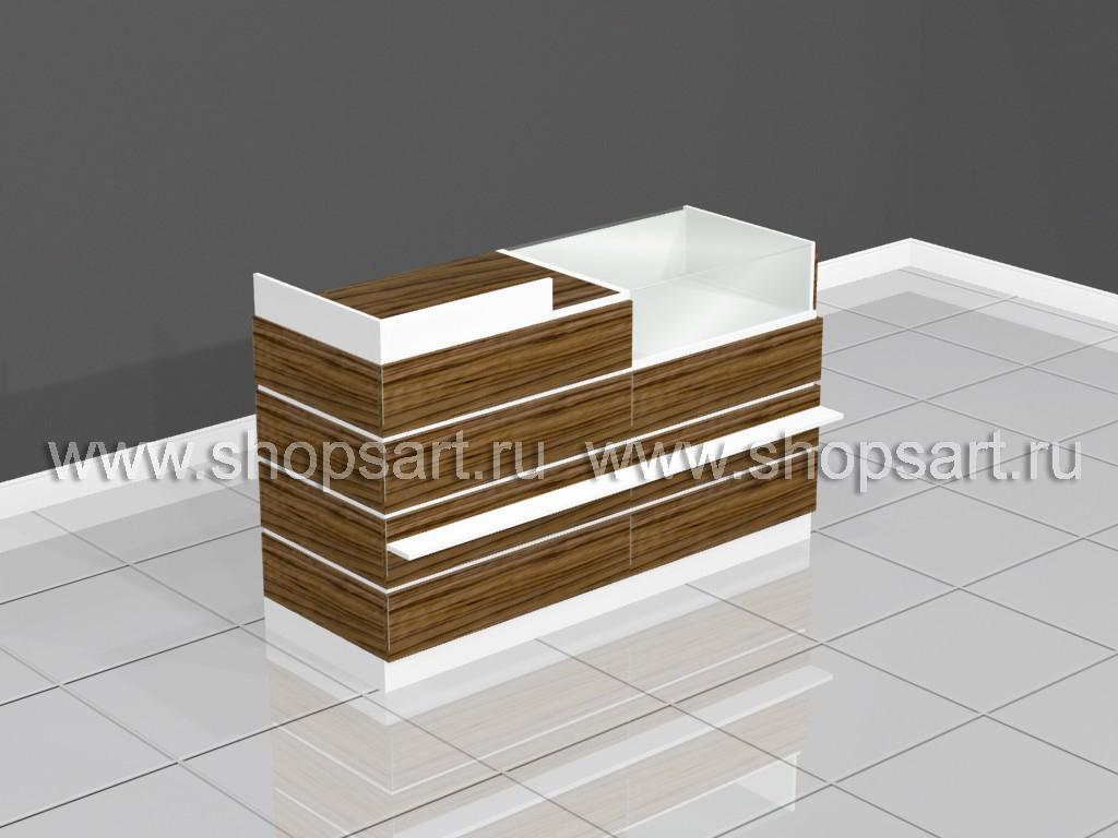 e2297448edcc6 Купить кассовый узел из двух секций коллекция ГЛАМУР | ShopsArt.ru