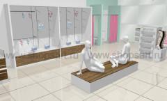 Визуализация магазина нижнего белья ИЗУМРУД