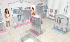 Визуализация 4 детского магазина 2 коллекция Монализа