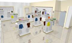 Визуализация детского магазина ЭЛИТ ГОЛД