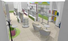 Визуализация детского магазина Стрекоза АКВАРЕЛИ