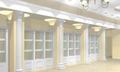 Дизайн интерьера ювелирного магазина коллекция БЕЛАЯ КЛАССИКА Дизайн 3