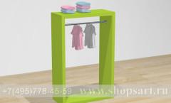 Торговое оборудование для детских магазинов стойка островная Карамель