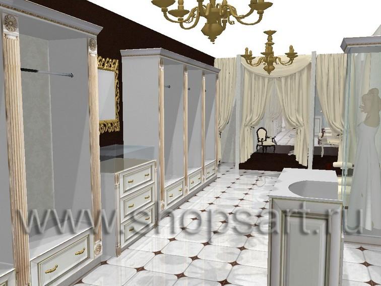 Дизайн-проекты свадебных салонов