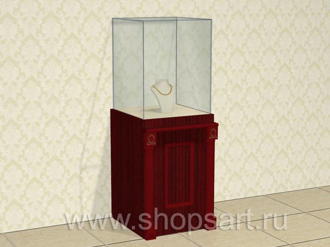 Куб демонстрационный ювелирный.