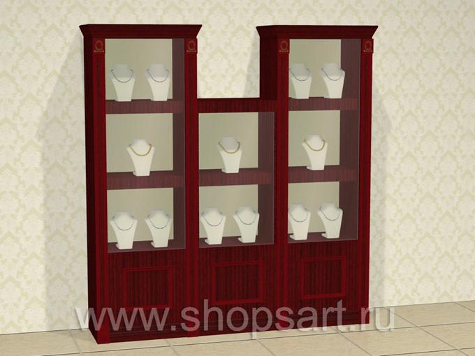 Шкафы ювелирные