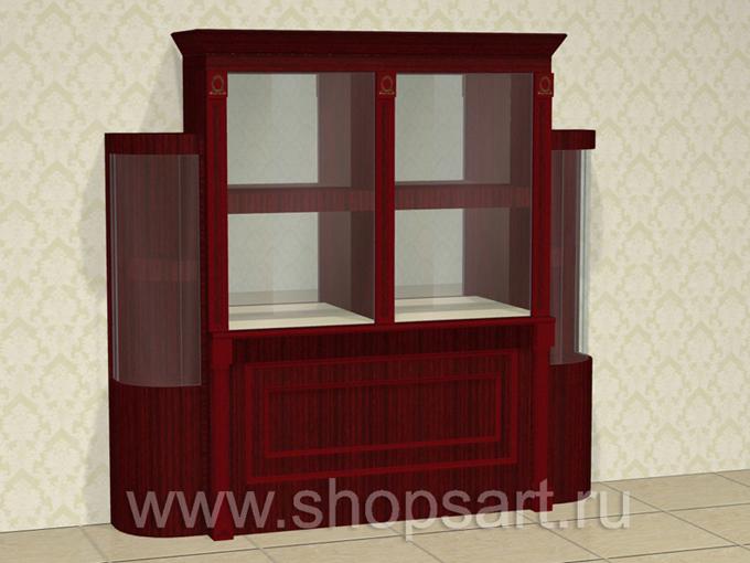 Шкафы для демонстрации ювелирных украшений