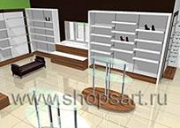 Дизайн-проекты магазинов обуви