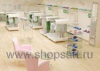 Дизайн-проекты магазинов одежды