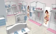 Визуализация детского магазина 2 МОНАЛИЗА