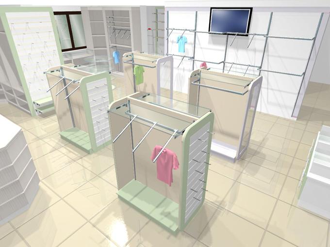 Визуализация детского магазина Малышня АКВАРЕЛИ